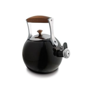 Nambe Meridian Tea Kettle (Black)