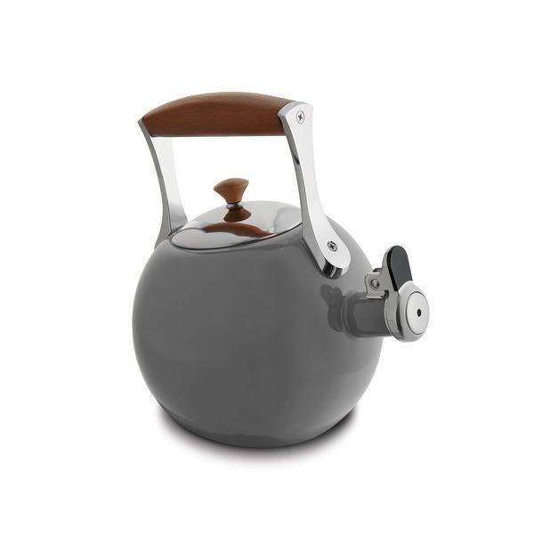 Nambe Meridian Tea Kettle (Slate)
