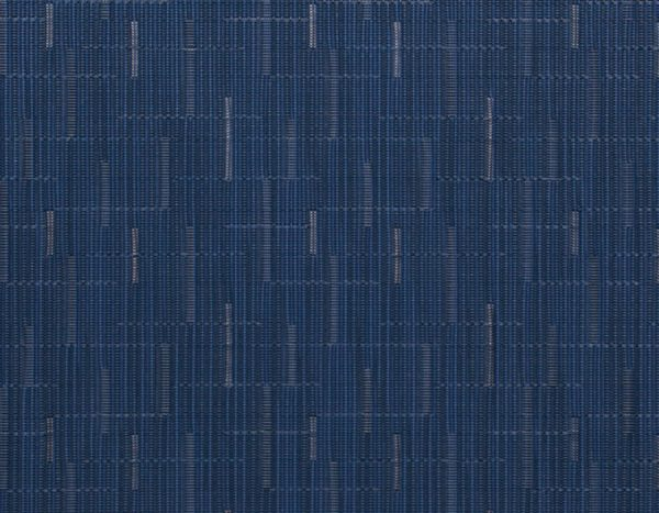Chilewich Bamboo Placemat Lapis - closeup to show texture