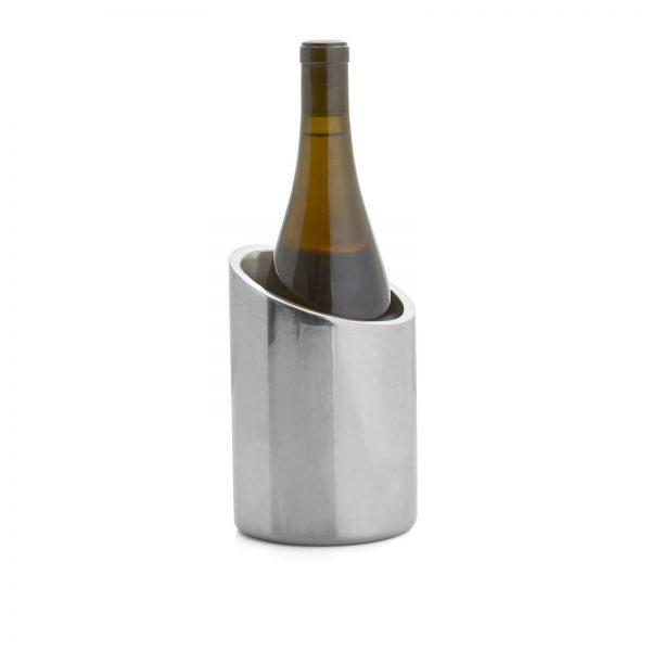 Tilt Wine Chiller with wine bottle