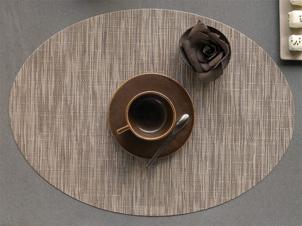 Chilewich Bamboo Placemat Oval Dune