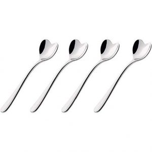Alessi Big Love Tea Spoons set of 4