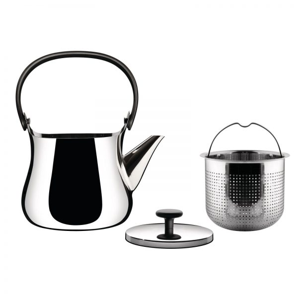 Alessi CHA Tea Kettle - lid and filter