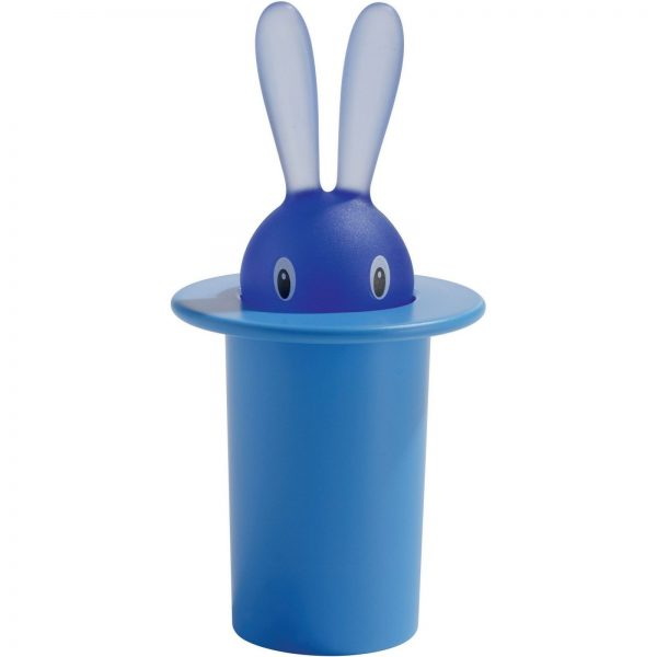Alessi Magic Bunny Toothpick Holder - Blue