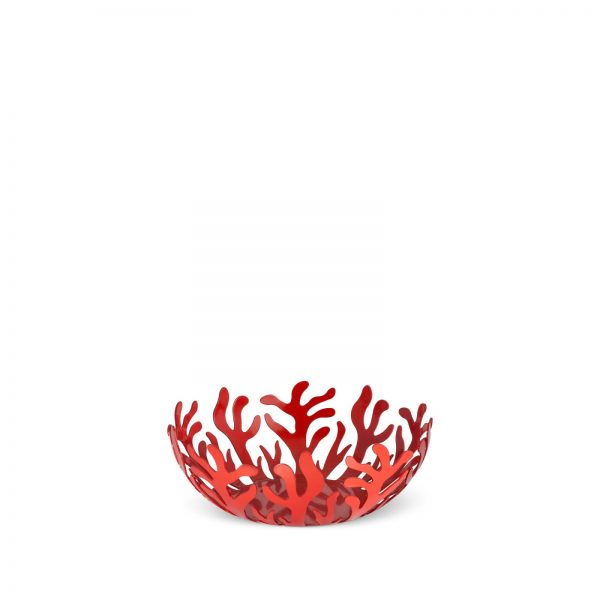 Alessi Mediterraneo Fruit Bowl - Red - Small