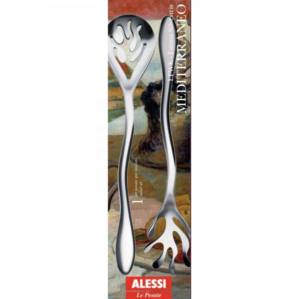 Alessi Mediterraneo Salad Set - packaging