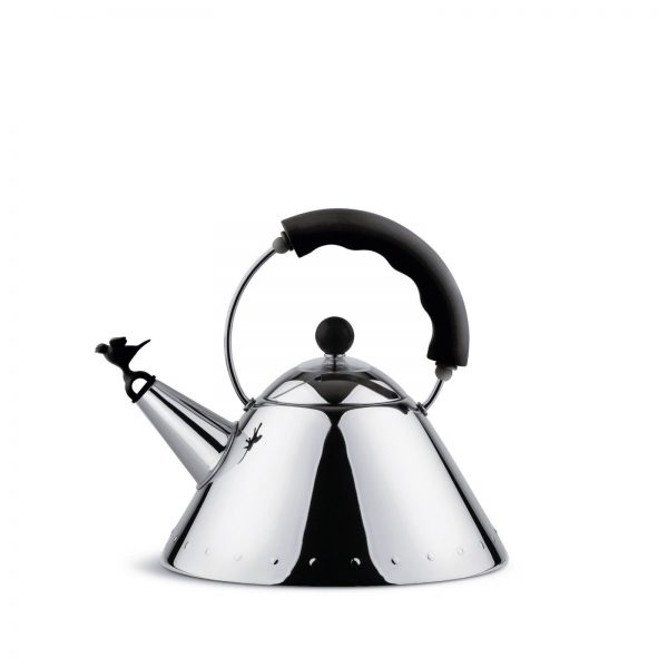 Alessi Michael Graves Water Kettle - black
