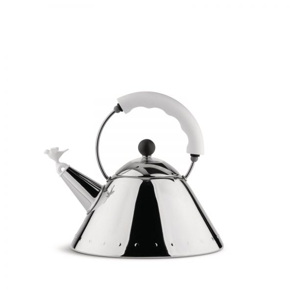 Alessi Michael Graves Water Kettle - white