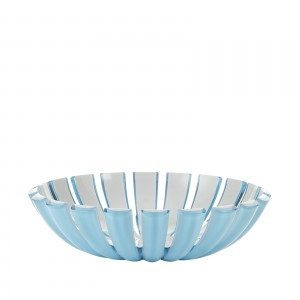 Guzzini Grace Basket - Blue/White