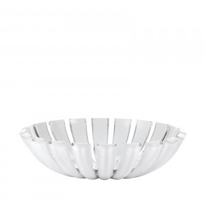 Guzzini Grace Basket - White/Clear