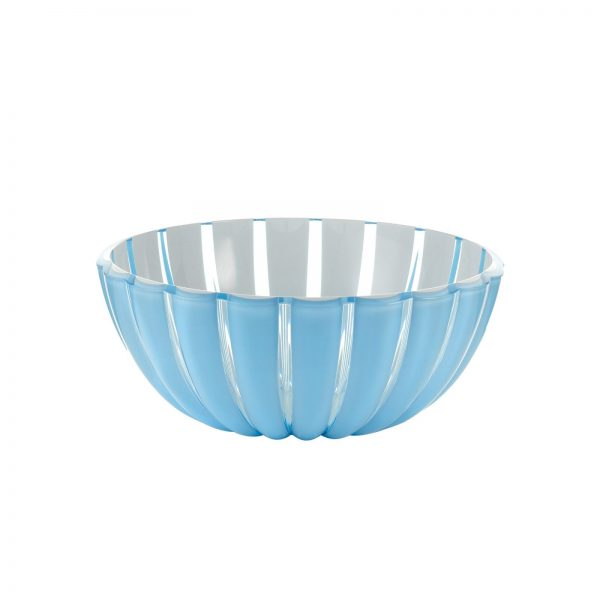 Guzzini Grace Bowl - Large - 25 cm - Blue/White