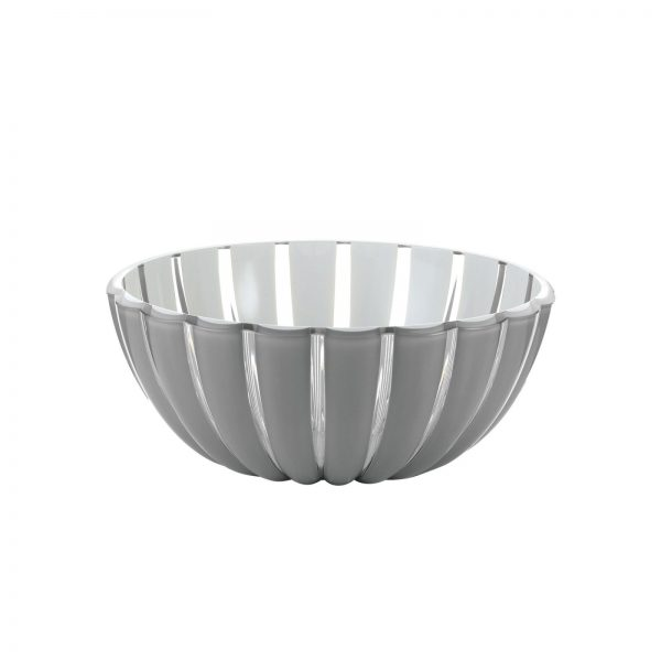 Guzzini Grace Bowl - Large - 25 cm - Grey/White