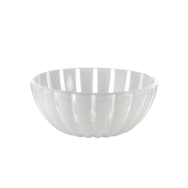 Guzzini Grace Bowl - Large - 25 cm - White/Clear