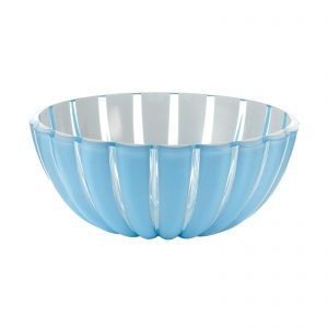 Guzzini Grace Bowl - XLarge - 30 cm - Blue/White