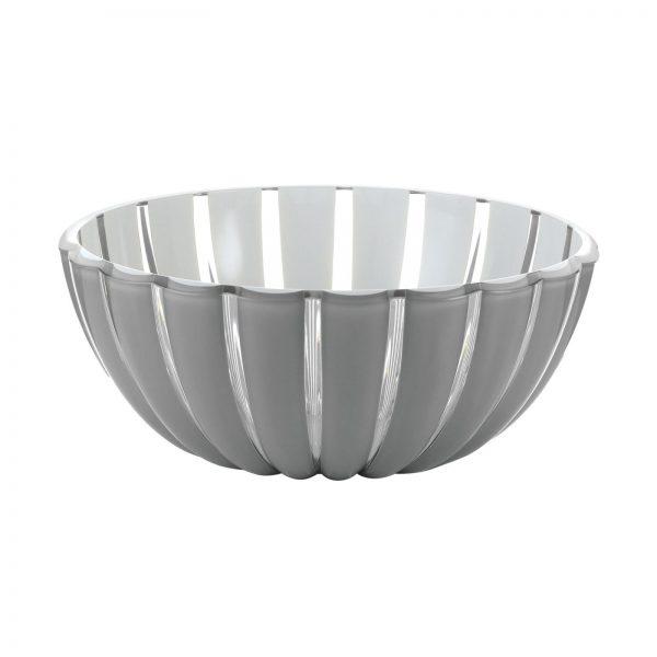 Guzzini Grace Bowl - XLarge - 30 cm - Grey/White