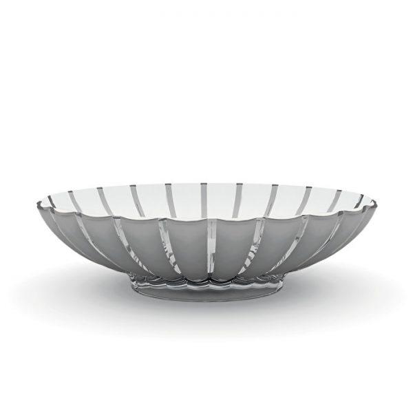 Alessi Grace Centerpiece - Grey/White