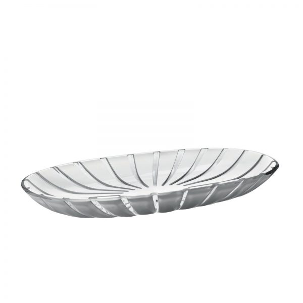 Guzzini Grace Serving Tray - Grey/White