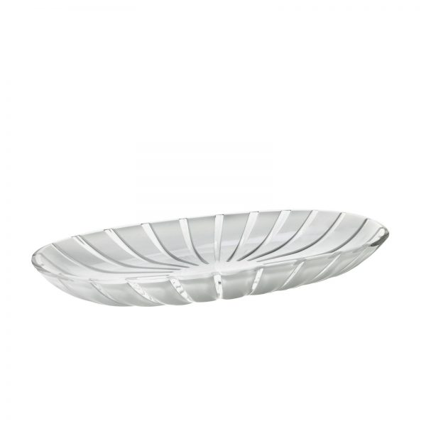 Guzzini Grace Serving Tray - White/Clear