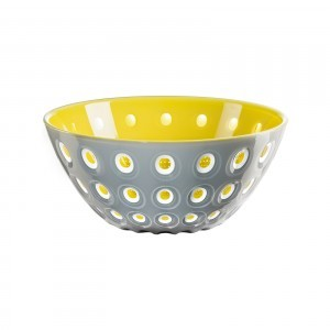 Guzzini Le Murrine Bowl - Grey - Yellow - White