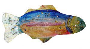 Rainbow Fish Plate