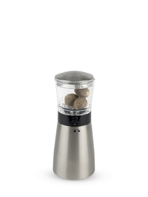 Daman nutmeg grinder pictured with nutmeg