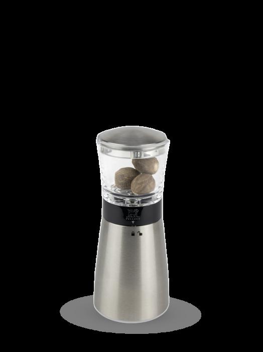 Daman nutmeg grinder pictured with nutmeg