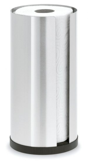 Cusi Paper Towel Holder pictured with paper towels