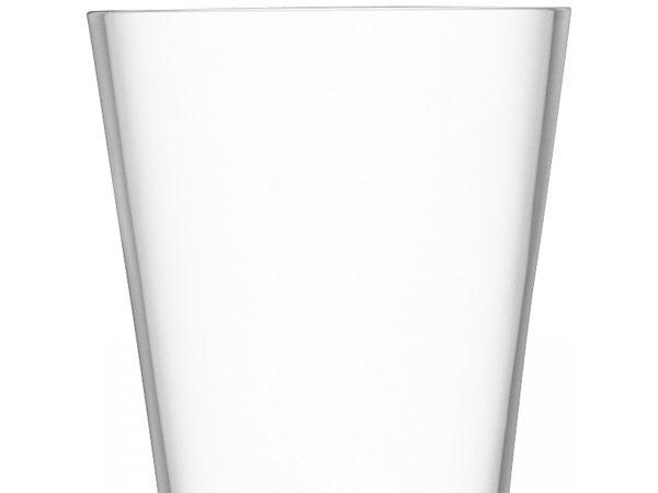 Moya Clear Champagne Flute closeup of glass