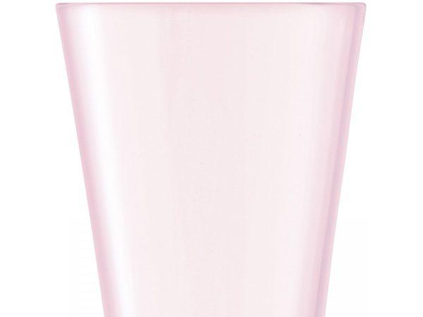 Moya Blush Champagne Flute closeup of glass