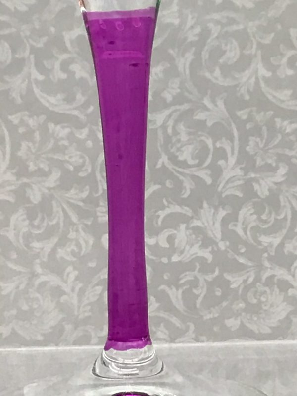 Italian Glass - Pink Stem