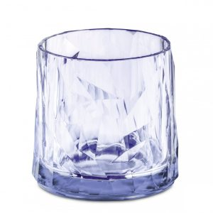 Koziol SuperGlas Short Tumbler Aquamarine Blue