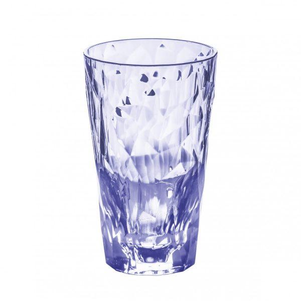 Koziol SuperGlas Tall Tumbler 300 ml Aquamarine Blue
