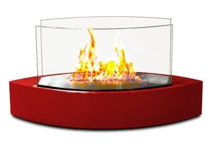Table Fireplace - Red