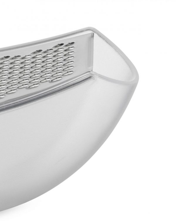 Alessi Grater with Cheese Cellar in Ice - close up