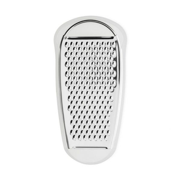 Alessi Grater with Cheese Cellar in Ice - top view