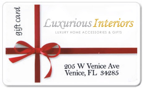 Luxurious Interiors Gift Card (205 W Venice Ave, Venice, FL 34285