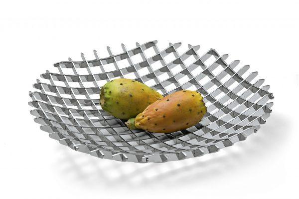 Philippi XL Grid Tray with fruit on white background